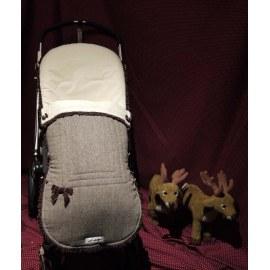 Funda de silla con saco Modelo Casita de Chocolate