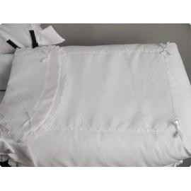 Colchita de Cuco Modelo Nube blanco