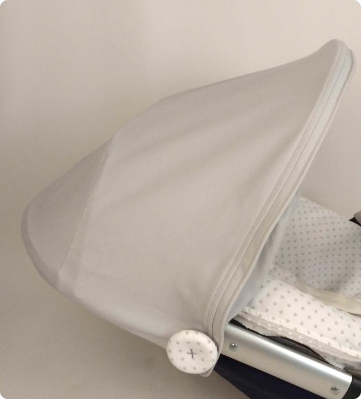 capota para silla quinny