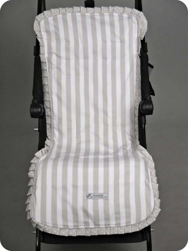 Funda básica de verano personalizada Modelo 3 para silla Maclaren