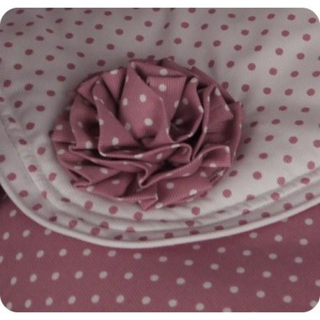 Broche Flor Plisada pequeña