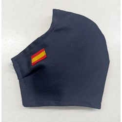 Mascarilla homologada marino bandera española