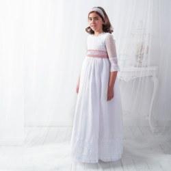 Vestido de Comunión Clavel