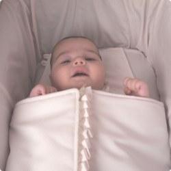 Saco Bebé Modelo Pocahontas